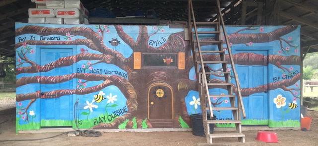 Barn Mural- May 2014
